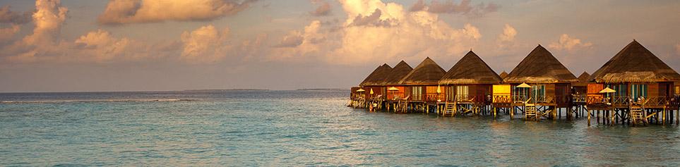 Malediven Hotel Wasserbungalow günstig